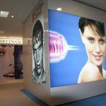 Textielframe wand indoor LED verlicht