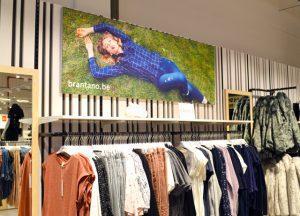 Textielframe wand indoor-foto 1