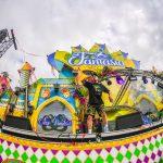Fantasia - podium spandoeken