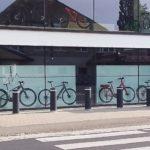 aankleding Niels Albert Bike Store door Herva
